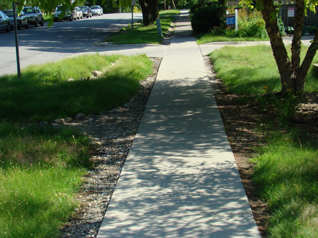 native landscaping and turf